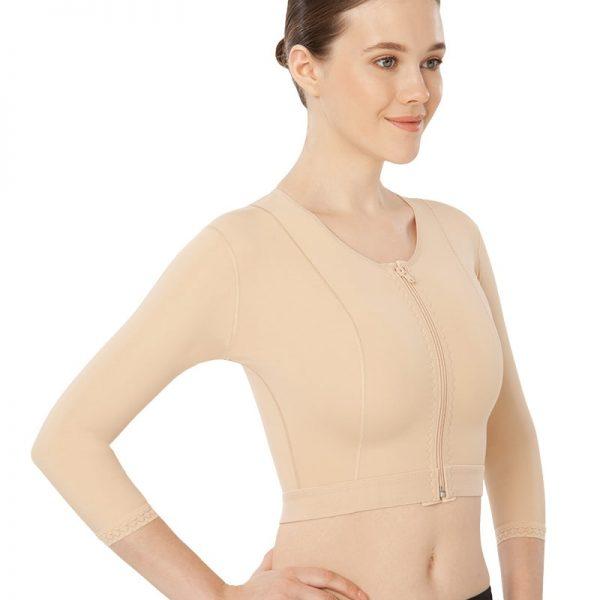 Корсет липосукция на гръден кош - рамо - гръб