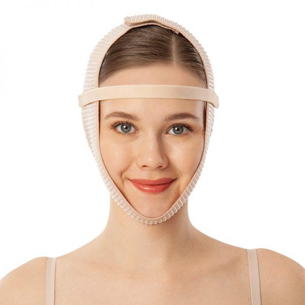 Пост-оперативен еластичен бандаж за брадичка.