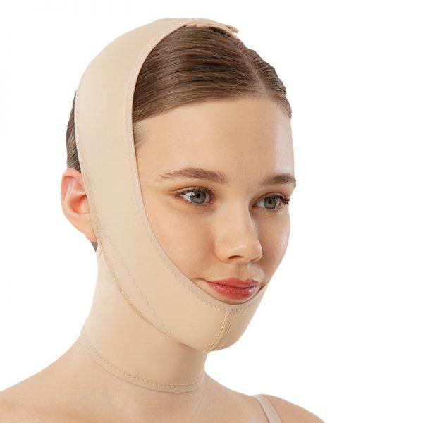Корсет липосукция на врат и брадичка