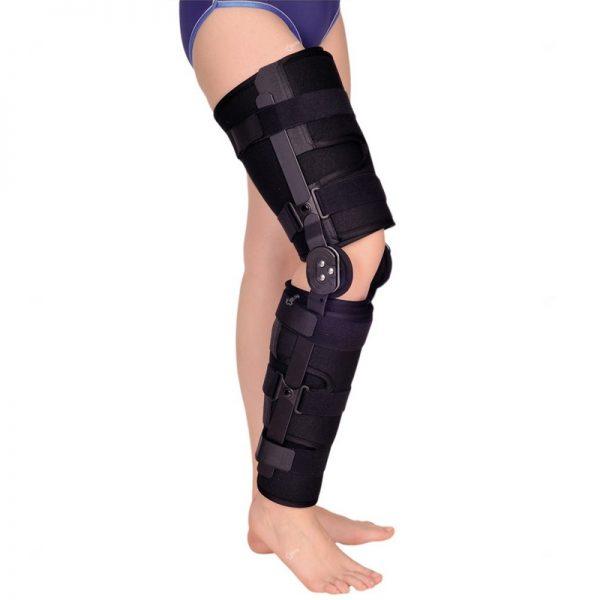 Универсална ригидна ортеза с пълно обездвижване на колянната става
