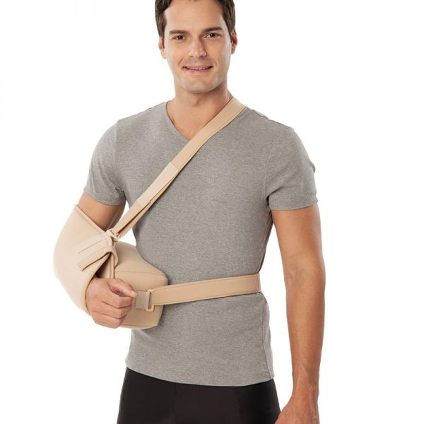 Опора за ръка и рамо от елстична затопляща материя