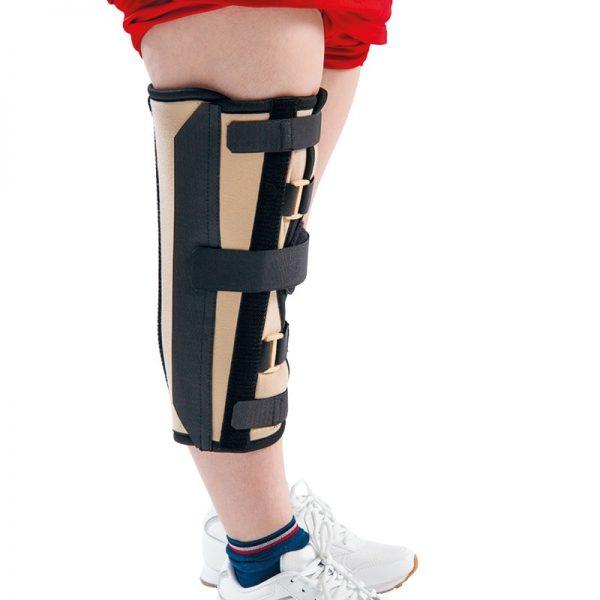 Ригидна ортеза универсална с пълно обездвижване на колянната става