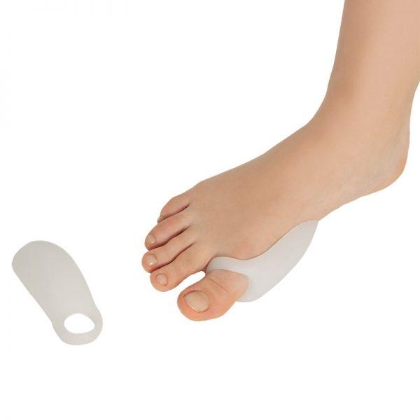 Силиконов протектор за палец на крака