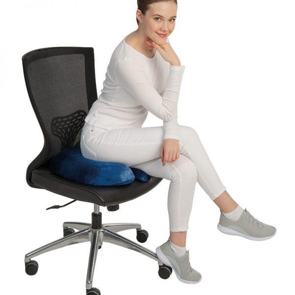 """Visco възглавница за сядане от мемори пяна (""""U"""" FORM)"""