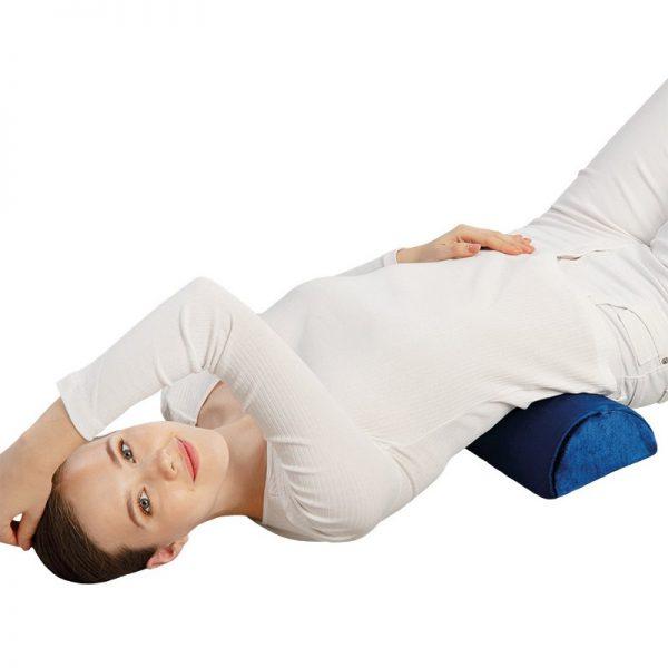 Полуцилиндрична възглавница