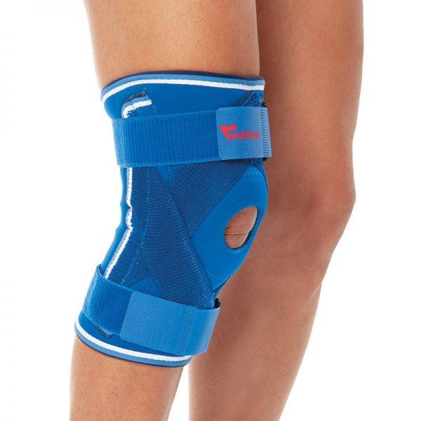 Ортеза за коляно с метални странични укрепващи елементи