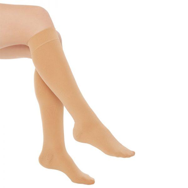 Еластични компресионни чорапи за разширени вени , къси