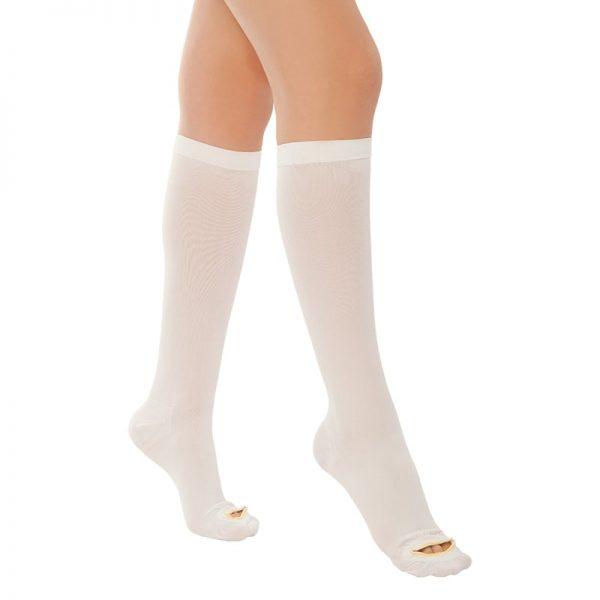 Антиемболизъм чорап до коляното- клинично създадени за лежащо болни