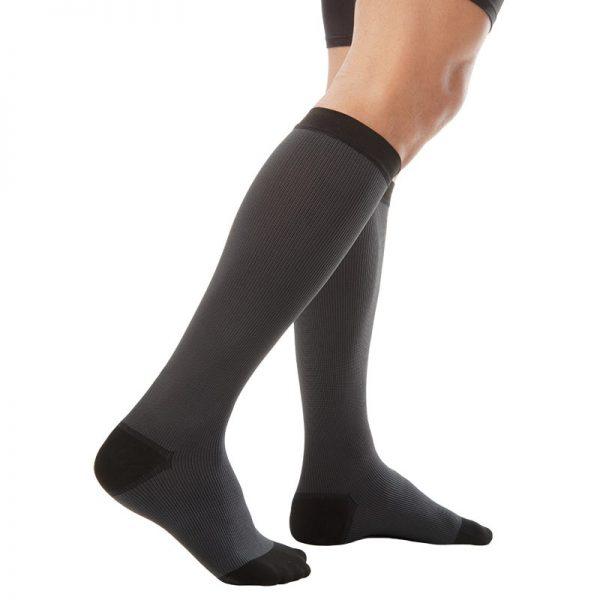 Мъжки еластични компресионни чорапи за разширени вени , къси до коляно
