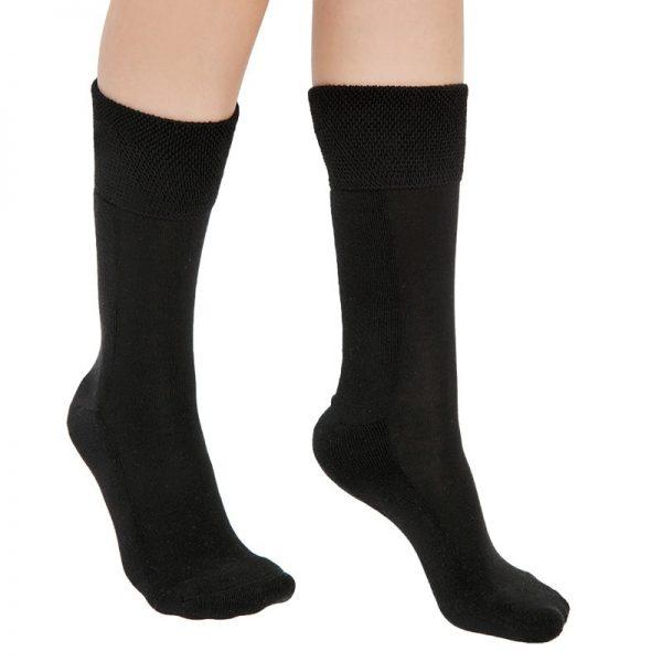 Чорапи със сребърна нишка и хавлиена част на цяло стъпало